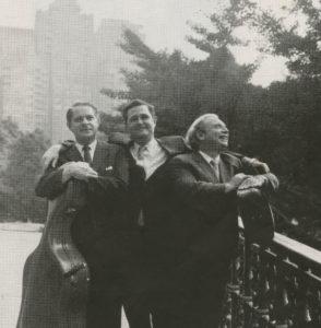 15 Trio sur pont