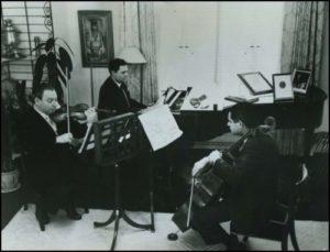 Trio en répétition