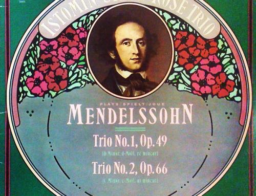 Mendelssohn, complete trios