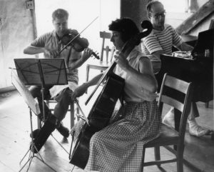 Rehearsing a Beethoven Trio in Marlboro