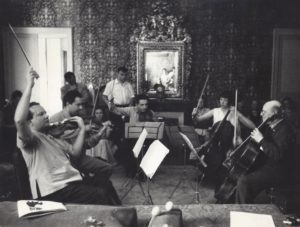 Rehearsing the Schubert Quintet (1955)